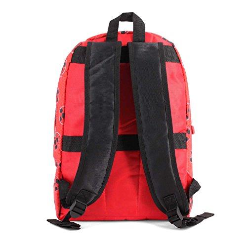 *Ladybug Defenders Sac à Dos Enfants, 32 cm, Rouge (Rojo) Prix