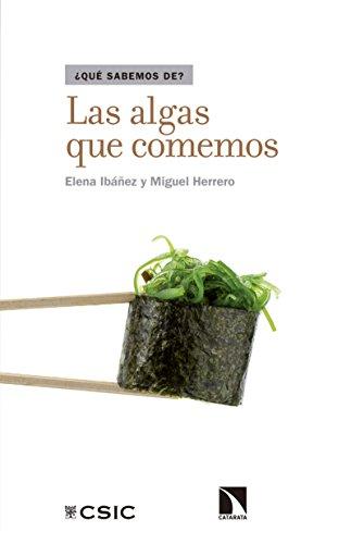 Las algas que comemos por Elena Ibáñez
