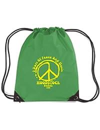 T-Shirtshock - Rucksack Budget Gymsac T0198 woodstock politica