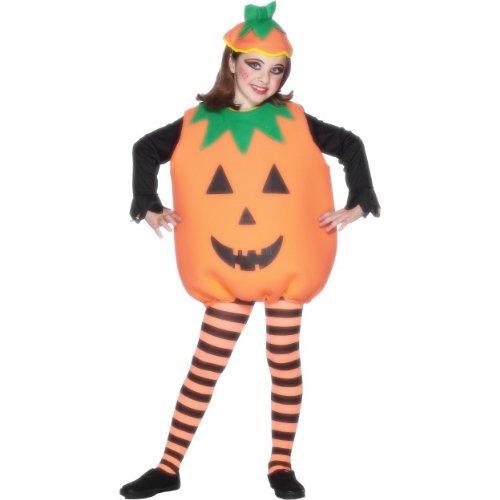 Jack O Kind Kostüm Lantern - Smiffys Halloween Kinder Kostüm Kürbis Pumpkin Jack O'Lantern