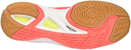 Chaussures Wos de 2 Multicolore 46 Running pinkglo safetyyellow Femme Mizuno Mirage Wave Fierycoral IxqXwp