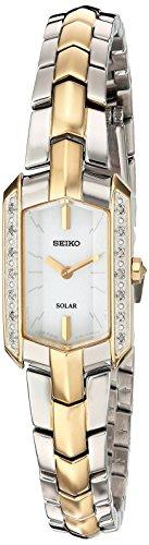 Seiko Tressia Femme Diamant Bracelet Acier Bicolore Quartz Montre SUP358