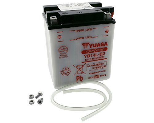 Batterie YUASA-yb14l-b2Für Suzuki LS650Savage, S40650ccm Baujahr 86-13