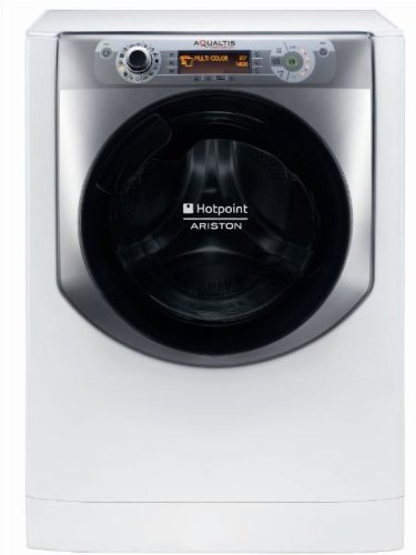 Hotpoint AQ94D 49D IT Freestanding Front-load 9kg 1400RPM A+++-10% Argento,Bianco washing machine - Washing Machines (Freestanding, Front-load, Argento, Bianco, Buttons, Rotary, LCD, Nero)
