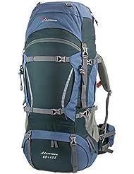 Mountaintop Mochilas de Marcha Impermeable .Mochila para Deportr Viaje Casual 65L+10 78*36*25 cm