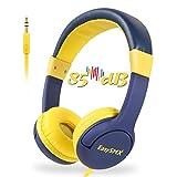 EasySMX Casque Audio Enfant avec Limiteur de Volume, Casque de Protection Oreilles...