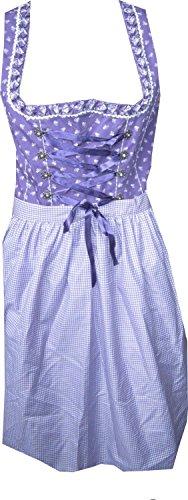 Country Life Dirndl Irmi 55cm in Violett Violett