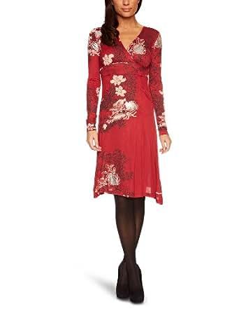 Desigual Damen  TunikaKleid Gr. 10, Rot - Fresa