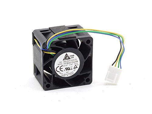 Delta FFB0412UHN 40x40x28mm Server Cooling Fan Gehäuse-Lüfter DC 12V 0. 75A 4-Pin