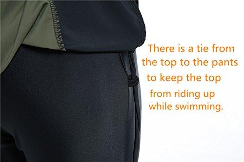 Muslimischen Damen Badeanzug Muslim Islamischen Full Cover Bescheidene Badebekleidung Modest Muslim Swimwear Beachwear Burkini (Int'l – S, Hijab Connected-7) - 6