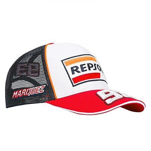 HONDA Repsol Marc Marquez 93 Moto GP Baseball Berretto Trucker Ufficiale  2018 e824dd5d970a