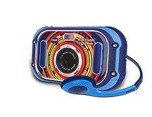 VTech Kidizoom Touch Bleu - Cámara Infantil de Fotos Digital, Azul - Versión francesa
