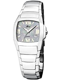3cdc3e2edcf4 Lotus Shiny 15316-3 - Reloj de mujer de cuarzo con correa de acero  inoxidable