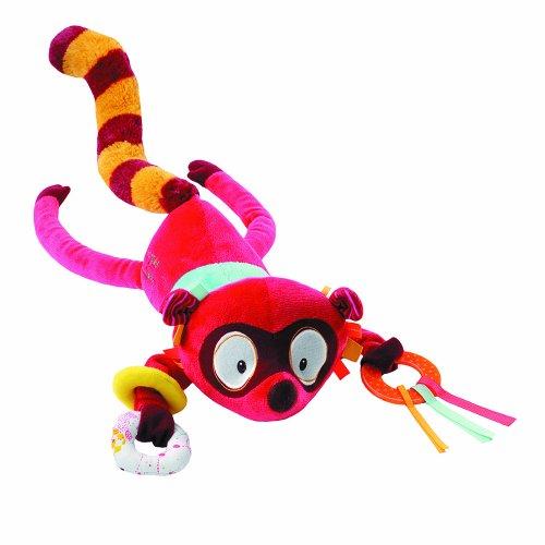 (Lilliputiens 86522 - Georges Lemur Musik - Stofftier, Spieluhr mit verschiedenen Aktivitäten)