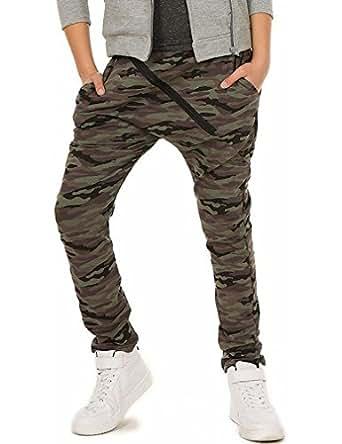 camouflage milit r jungen hose skate 116 158 bekleidung. Black Bedroom Furniture Sets. Home Design Ideas