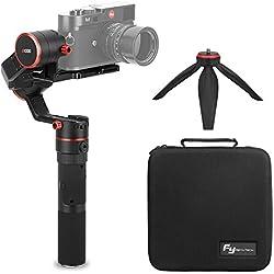 Feiyu a1000 3-Axis Gimbal Stabilizer, Actualización de Carga útil a 150-1700 g,Estabilizador Cardán para Sony Serie Serie RX Panasonic, Cámaras DSLR / Cámara sin Espejo , iPhone X 8, Samsung S8, GoPro Hero 6 5