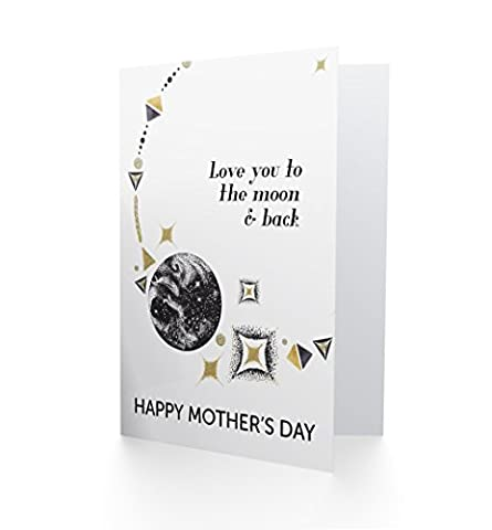 Love You To The Moon And Back - Happy Mothers