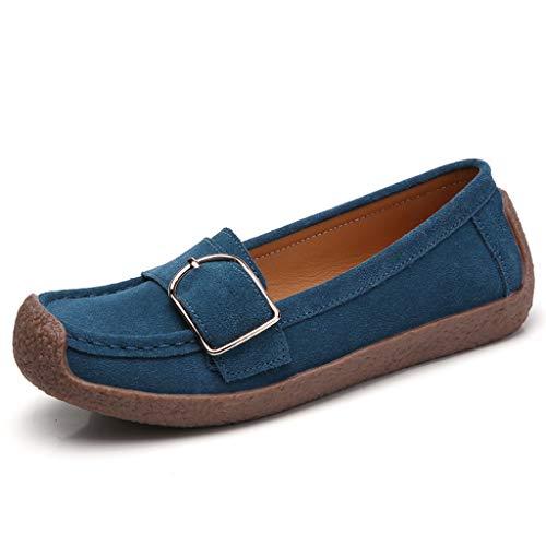 LILIGOD Damen Sommer Schuhe Flache Outdoor-Schuhe Mode Freizeitschuhe Einfache Schuhe Bequeme Atmungsaktive Schuhe Elegant Wilde Müßiggänger Erbsen Schuhe Schuhe Slipper Sandalen