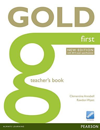 Gold first. Teacher's book. Con expansión online. Para Colegios por Clementine Annabell