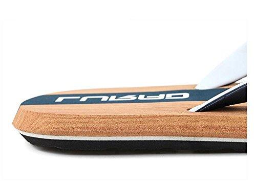 ALUK- Sommer Sandalen - Casual Anti-Rutsch Männer bequeme Verschleiß-resistenten Hausschuhe Strand Schuhe ( Farbe : Dunkelblau , größe : 40 ) Dunkelblau