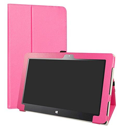liushan PU Leder Slim Faltbarer Ständer Cover für 29,5cm Insignia Flex ns-p11W6100Android Tablet Mehrfarbig Rosarot