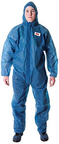 3M 4500B2XL Schutzanzug 4500, Größe XX-Large, Blau (Größe 20 Overalls)