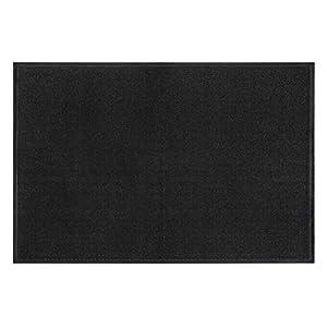 andiamo Schmutzfangmatte, Fußmatte aus Polypropylen - Indoor/Outdoor geeignet - in 40 x 60 cm Anthrazit - 5 mm Höhe