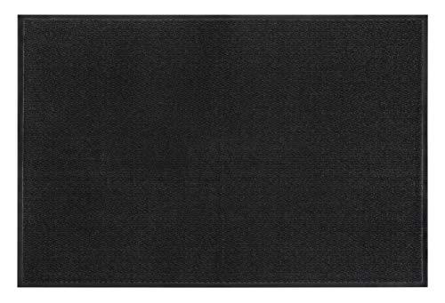 andiamo Schmutzfangmatte, Fußmatte aus Polypropylen - Indoor/Outdoor geeignet - in 120 x 180 cm Anthrazit - 5 mm Höhe