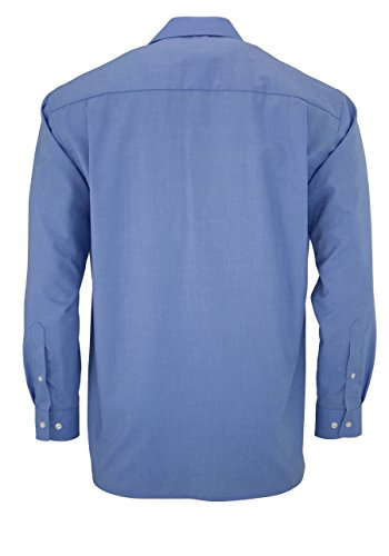 OLYMP Herrenhemd, 1/1-Arm 65 mittelblau