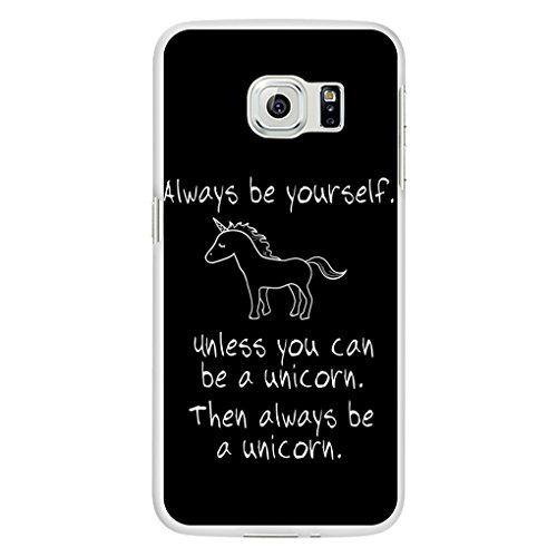 SEAWOOD süßem Einhorn Print Handy Schutzhülle für iPhone 6Samsung Galaxy S6, plastik, 2#, or Samsung Galaxy Note 5