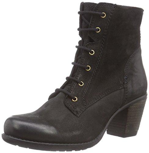 Alta Calidad 262 175, Boots à doublure chaude - Style combat femme Noir - Schwarz (006 Black LD)
