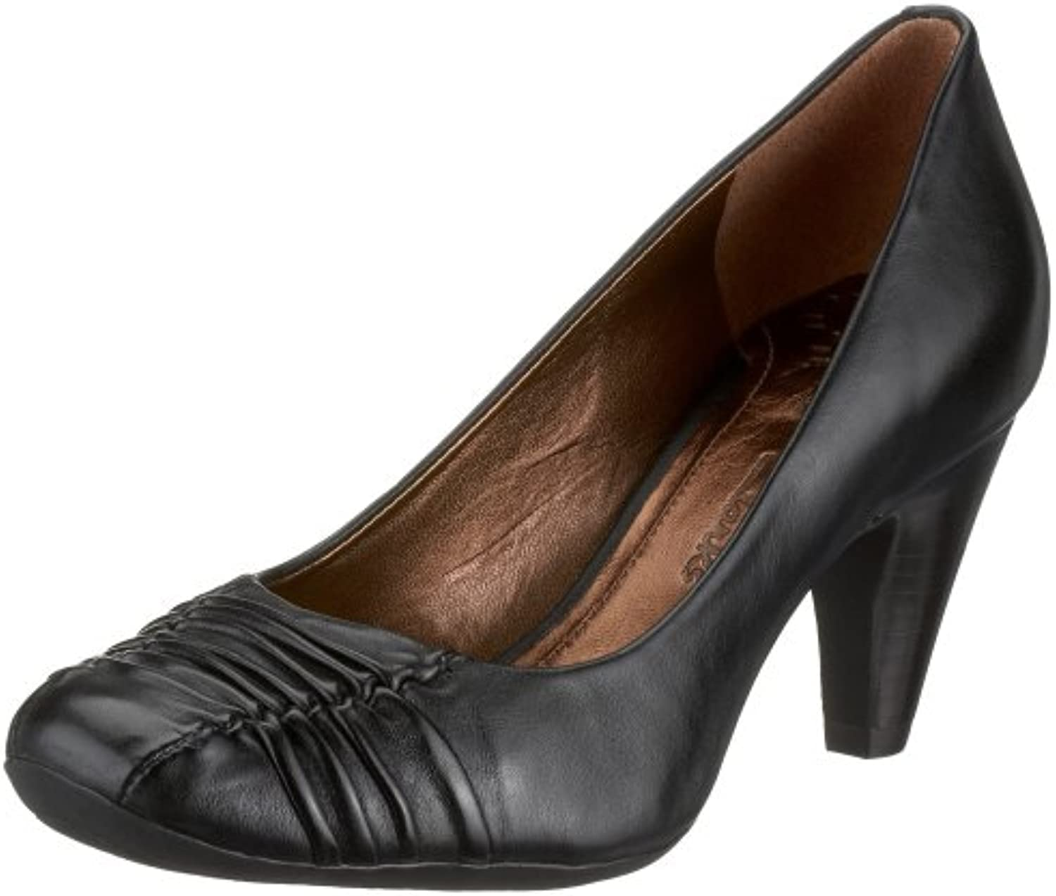 Clarks 2032 Glaze 2032 Clarks 3409, escarpin femme, noir, Double (Black Leather)B001ECRLBYParent 3e3c35