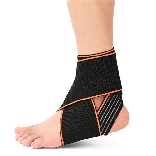 KQHSM Sicherheit und hohe Elastizität-Anti-Rutsch-Outdoor Sports Knöchelverschleißfeste atmungsaktiv männlichen und weiblichen Fuß Kompressionssocken (Color : 1PCs) -