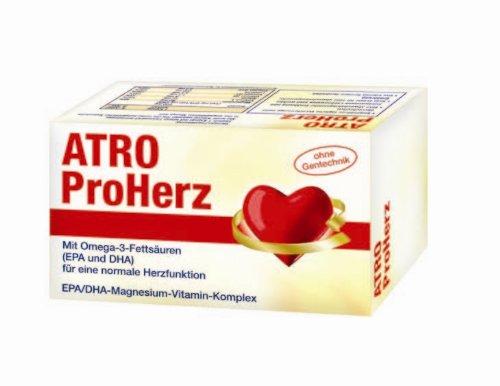 ATRO ProHerz, 4-Monatspackung mit 120 Kapseln, für eine normale Herzfunktion