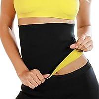 Belly Slimming Belt Postpartum Loss Weight Body Shaper Tummy Fat Burning Waist Training 6 size universal for man women (M)