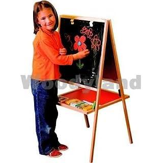 Woodyland 102110103 Large Magnetic Black & White Board, Multicolor