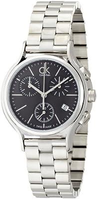 Calvin Klein Falda k2u29141–Reloj de cuarzo para mujer