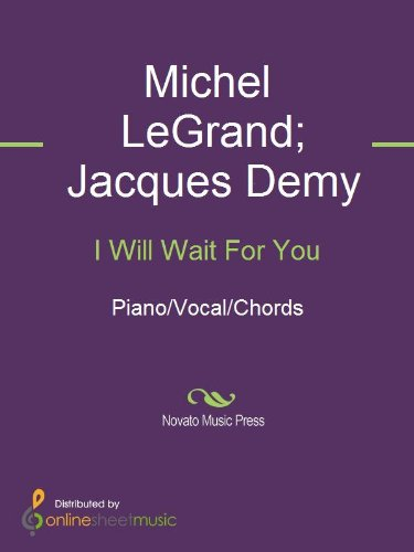 I Will Wait For You Ebook Andy Williams Frank Sinatra Jacques