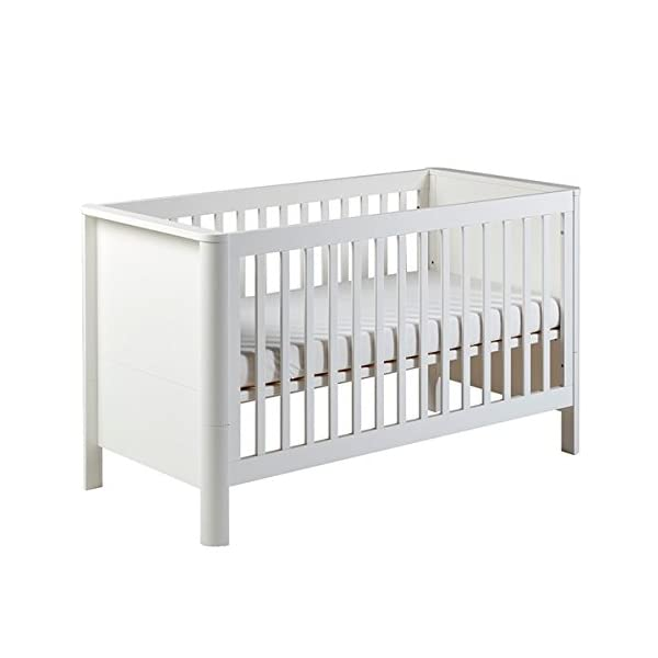 East Coast Nursery Liberty Cot Bed East Coast Nursery Ltd 3 base heights Converts to a toddler bed Mattress size 140 x 70cm 2