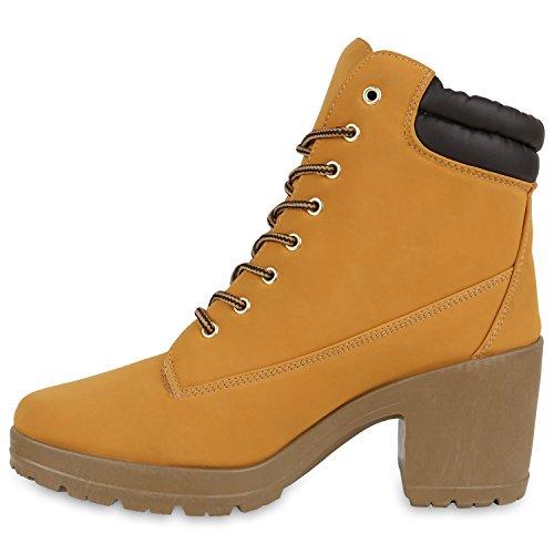Castanho Botas Trabalho Ar Planalto Único Perfil Claro Boots Senhoras Ao Livre Ankle a6vSqwa