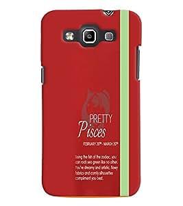 Fuson Premium Pretty Pisces Printed Hard Plastic Back Case Cover for Samsung Galaxy Grand Quattro i8552