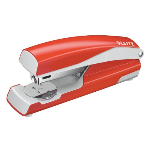leitz-55020020-heftgerat-30-blatt-ergonomisches-metallgehause-inkl-heftklammern-nexxt-hellrot