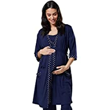 Para Mujer Premamá Lactancia Pijama/Camisa de dormir/Bata.