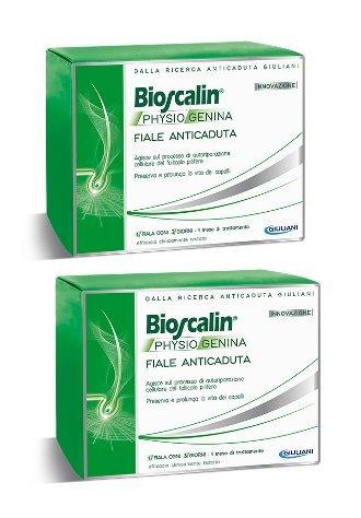 2 x Bioscalin Physiogenina 10 Fiale Anticaduta