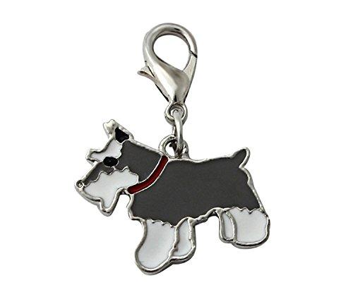 oha-pet-german-schnauzer-designer-dog-riesse-schnauzer-charm-keyring-dog-collar-black-white
