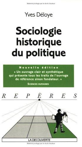 SOCIOLOGIE HISTORIQ DU POLITIQ