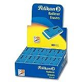 Pelikan 0ARF40 Gomma BW 40 - confezione risparmio 40 unità - ideale per disegno tecnico e scolastico. Forma a scalpello - Per inchiostro