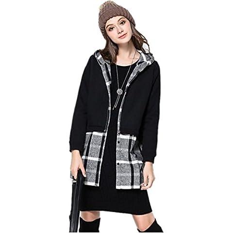 XYXY Autunno e falso due pezzi giacca