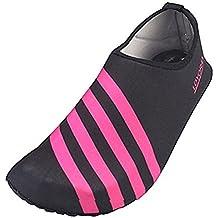 Eagsouni Zapatos de Agua Unisex Hombre Mujer Niña Niños Calzado de Natación  Secado Rápid para Buceo b7a868d7b86