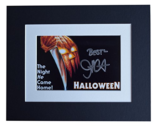 Sportagraphs John Carpenter Signed Autograph 10x8 photo display Halloween Film AFTAL COA